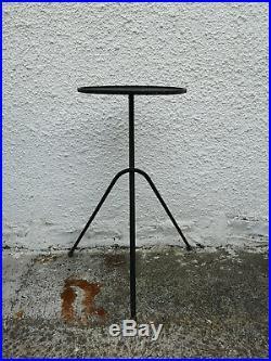 Sellette tripode Mategot métal et laiton design années 50/60