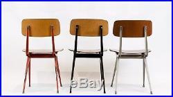 Suite de 3 chaises Friso Kramer Model Result 1950