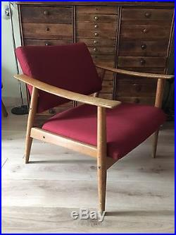 Superbe Fauteuil Scandinave Vintage Années 60