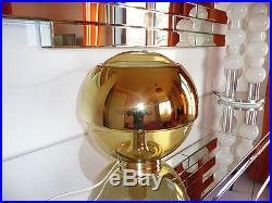Superbe Lampe DORIA GOLD des Années 70's Vintage
