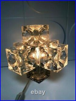 Superbe Lampe Vintage An 70's Albano Poli pour poliarte