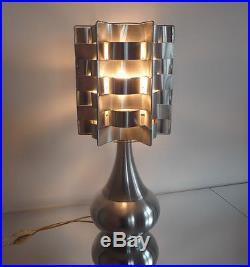 Superbe Lampe Vintage Des années 70's dans le goût de Max Sauze