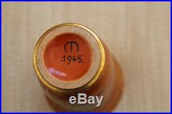 Superbe Vase Art Deco En Ceramique De Mayodon Sevres Signe 1945