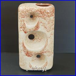 Superbe Vase Italien Vintage 1970 Ceramique Bertoncello 70s 70's Space Age