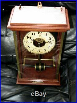 Superbe et rare pendule 1923 MFB Bulle Clock electric (no ato, brillié, Lepaute)