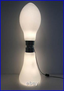 Superbe lampe de parquet des Années 60's 70's Carlo Nason Mazzega Murano