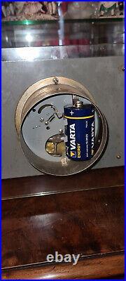 Superbe pendule electrique ATO Art Déco french clock (no bulle) a réviser
