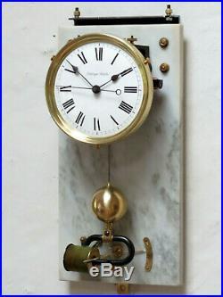 Superbe pendule horloge mère BRILLIE Electrique masterclock (no ATO, LEPAUTE)