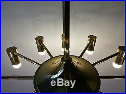 Suspension Lustre Italien Stilnovo Lights 1970 Lamp 70 Chandelier Vintage