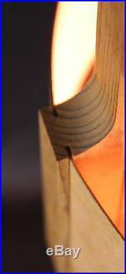 Suspension style scandinave vintage Design Lamelles Pin