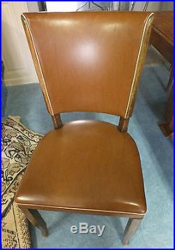Table Avec Rallonges Et Ses 4 Chaises Art Deco