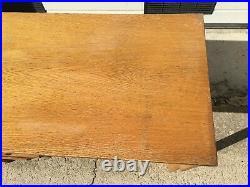 Table Bureau vintage à 2 tiroirs