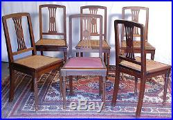 Table Et 6 Chaises De Salle A Manger Art Deco