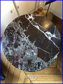 Table Marbre 70 Type Saarinen knoll