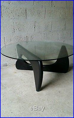 Table basse Noguchi Coffee table vintage années 70 design bout de canapé