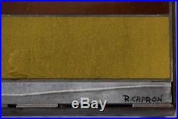 Table basse de roger capron, capron, jacques blin, années 50, vintage, blin