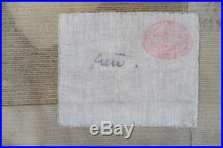 Tapisserie ancienne tapis ancien rug Europeen European Français France 1960