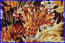 Tapisserie ancienne tapis ancien rug Europeen Français France Aubusson 1970