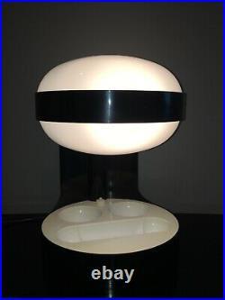Très Rare Lampe A Poser KD 29 De Joe Colombo Pour Kartell Années 70 Space Age