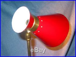 Une Lampe cocotte applique GUARICHE OTTO KOLB MATHIEU diabolo vintage 1950 art