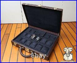 Valise suitcase malle Louis Vuitton collection trunk watch rolex Patek Audemars