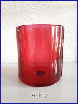 Vase ENZO MARI corsi design TWO LINES size M era sottsass eames gio ponti