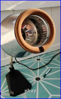 Vintage Hanau Sollux Modernist Bauhaus Art Deco lamp light Industrial design