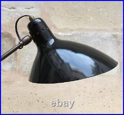 Vintage Lampe Boris LACROIX / Robert Caillat Table Lamp era Serge Mouille 1950