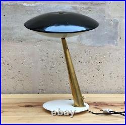 Vintage Lampe Giuseppe OSTUNI Oluce Table Lamp Tischlampe Lampada di tavolo 1950