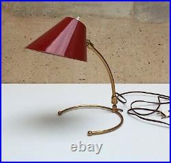 Vintage Lampe applique Robert MATHIEU / LUNEL Table Wall Lamp era Guariche 1950