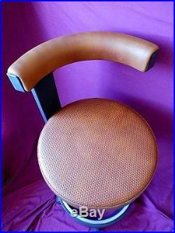 Vintage Tabouret Chaise Siemens Design 70 Bureau Deco Loft Industriel