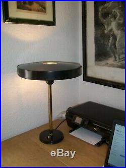 Vintage Timor Table Lamp by Louis Kalff for Philips, 1950s Mid Century