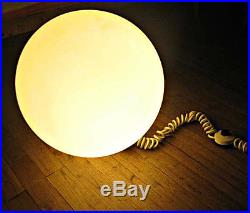 Vintage lampe de sol globe boule années 70 design 1970 ambiance era Knoll