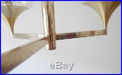 Vintage lustre métal des années 70 design 1970 sciolari